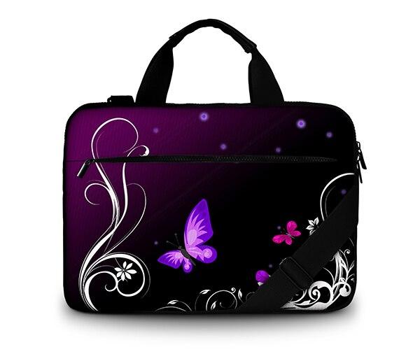 Notebook Laptop Sleeve Canvas Bag Case Handbag For Ipad