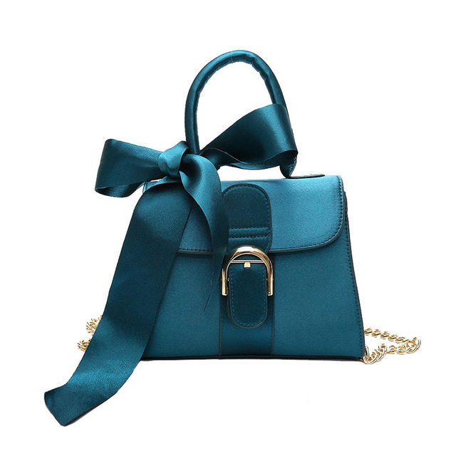 Brand chain shoulder bag female big bow small size handbag for women messenger  bags crossbody bag