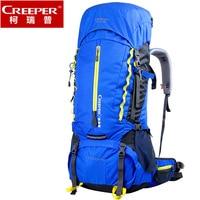Huge Capacity 60L Outdoor Professional Climb Backpack Trekking Rucksack Travel Equip Hiking Mountaineering Bag With Rain