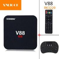 2017 Hot V88 Smart TV Box RK3229 1G 8G Android 6 1 TV Box Quad Core