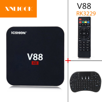 2017 Hot V88 Smart TV Box RK3229 1G 8G Android 6 1 TV Box Quad Core