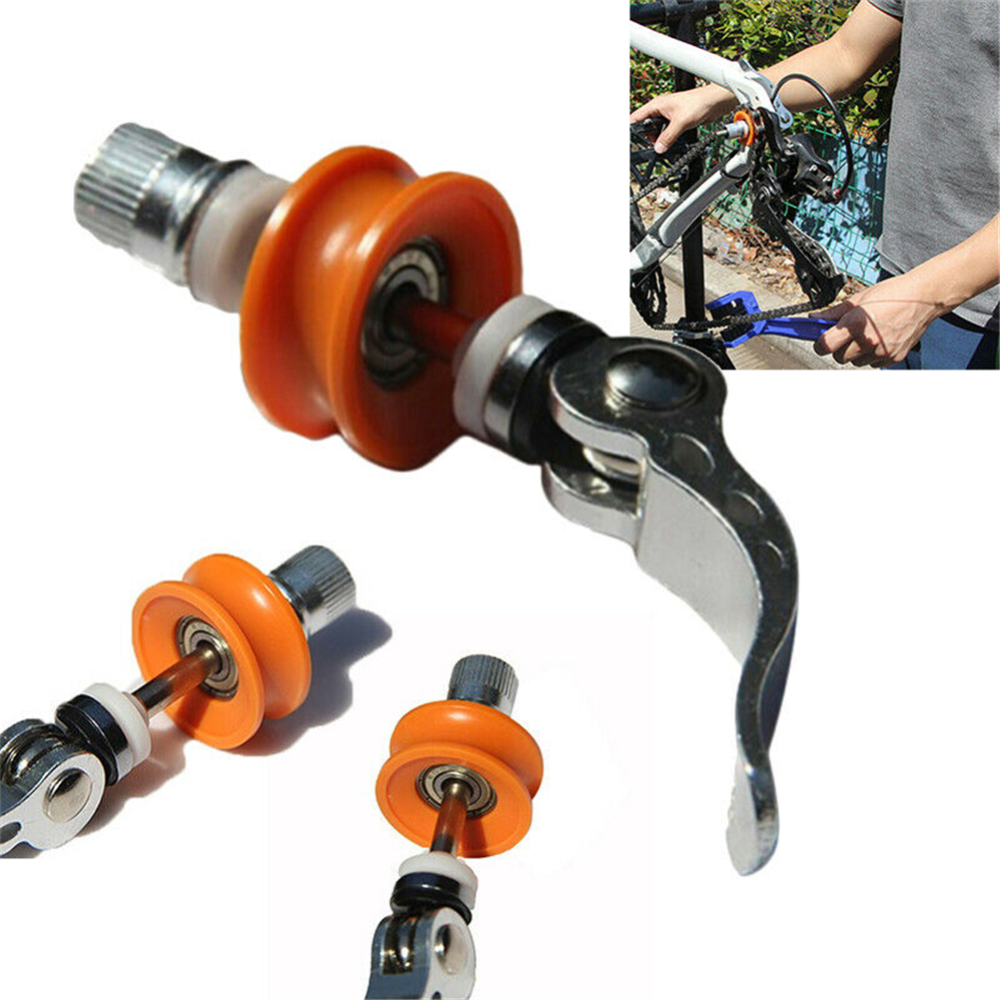 Bike Tools Cycling Bicycle Chain Keeper Holder Bike Dummy Hub Bicycle Tool Quick Cleaning Cycling Bicycle Chain Keeper Holder