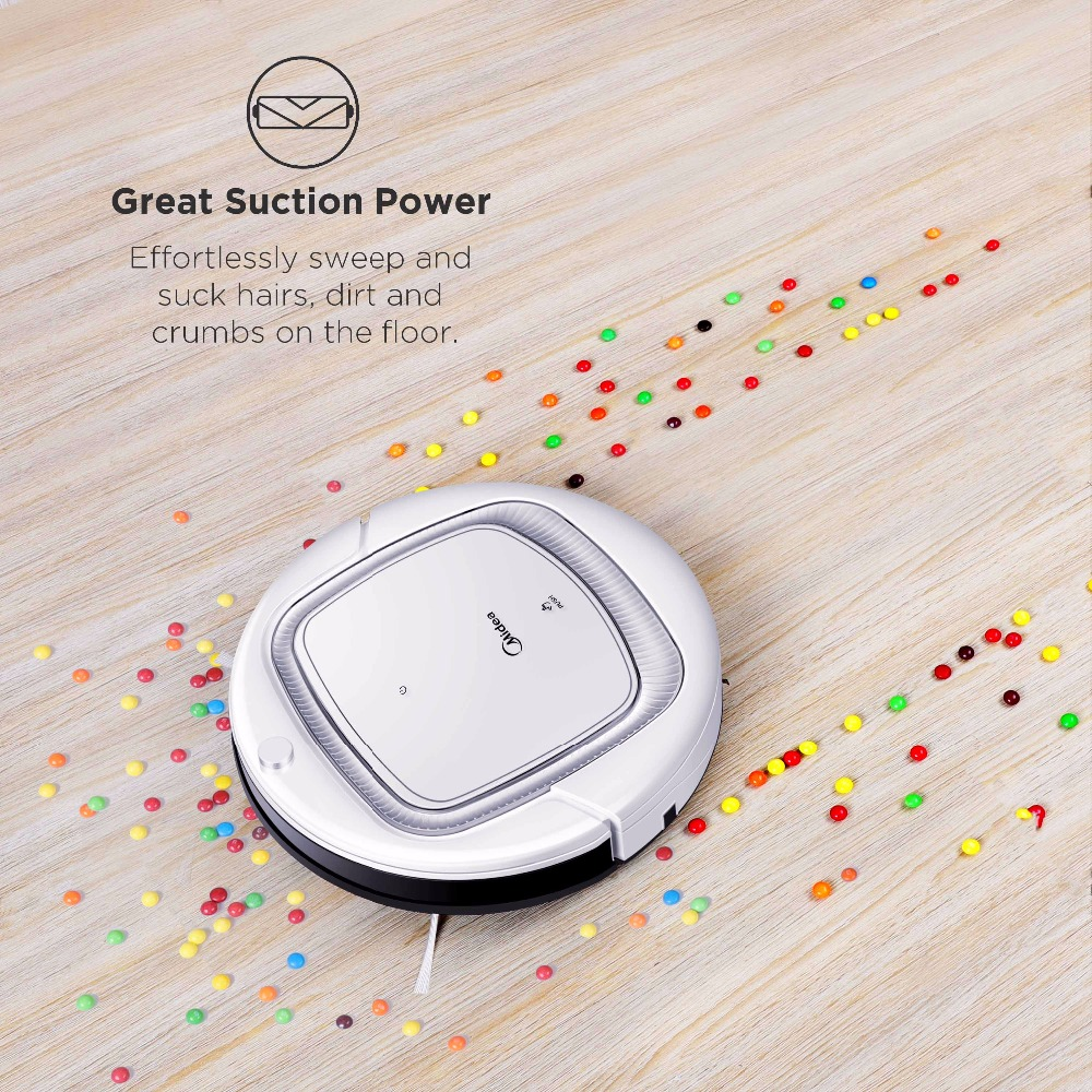 Midea Smart Robot Vacuum Cleaner with Self-Charge,1000PA Suction Power,Remote Control with Multi-Mode,M-SLAM Navigation System