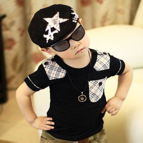 1PC Infant Boy s Baby Handsome Hat Casquette Peaked Baseball Beret Stylish  Cap HOT d029c40e1e8