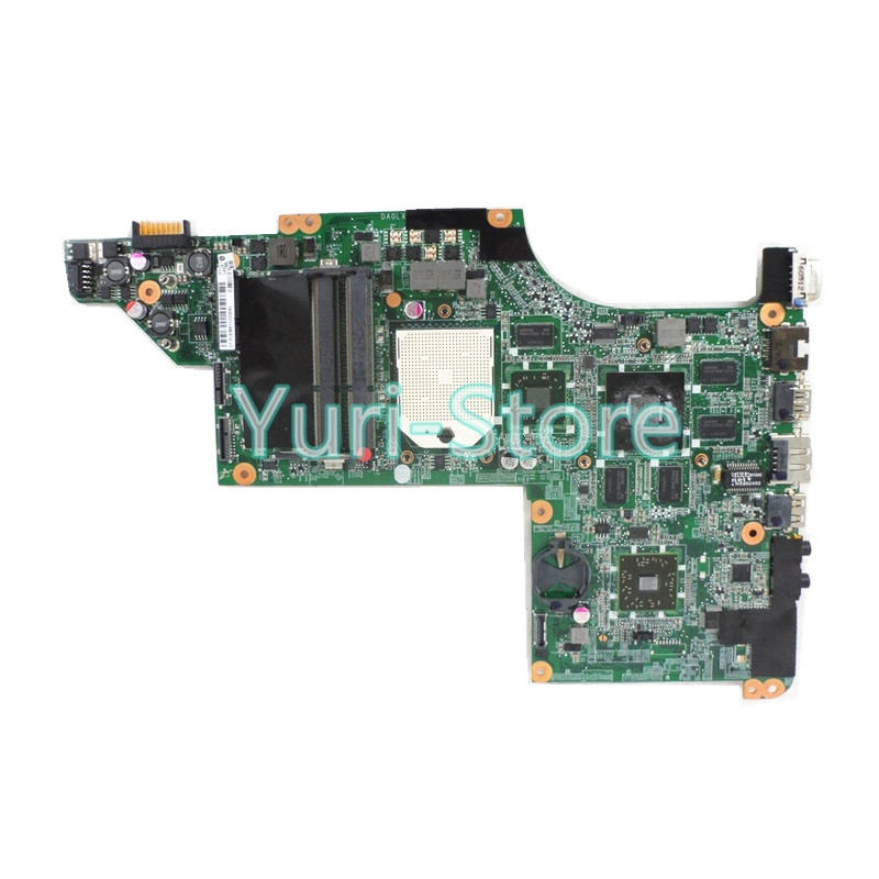 NOKOTION DA0LX8MB6D0 Laptop Motherboard For HP DV6 DV6-3000 series 603939-001 Mobility Radeon HD 5650 DDR3 Mainboard nokotion 650199 001 laptop motherboard for hp pavilion g4 g7 hm65 mobility radeon hd ddr3 mainboard mother boards