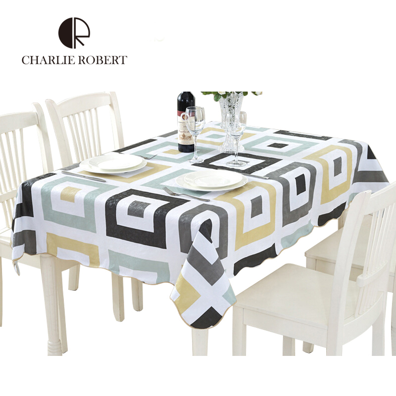pvc waterproof u0026amp oil proof tea table cloth high quality country style hotel u0026amp
