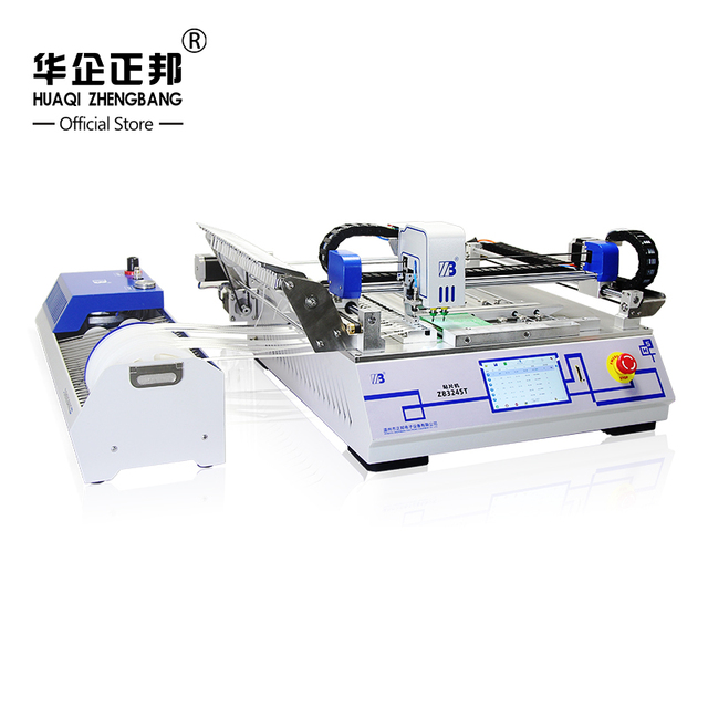 High Speed LED Mounting Machine /High Performance SMD Desktop Pick And Place Machine Free Shipping