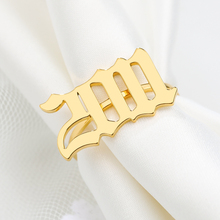 2019 Personality Date Ring Mens 2011 2012 2013 Anniversary Special Gift for Best Friend Birthday