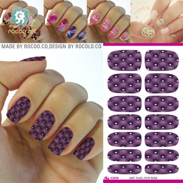 Hot water transfer sticker DIY trend Manicure full sticker nail stickers manufacturers K5636