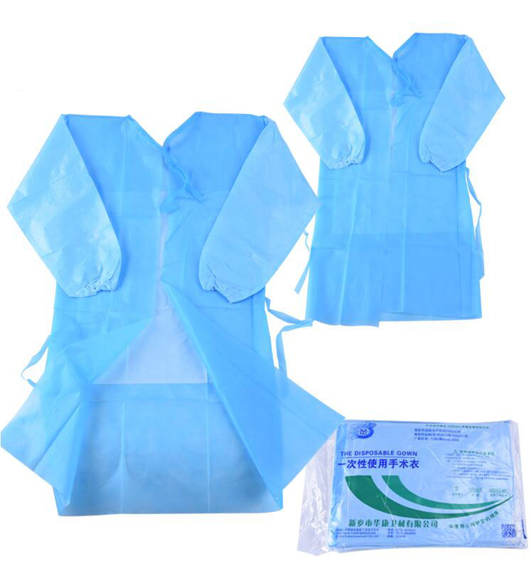 Disposable Surgical Gown Thin And Light Dust Clothes Woven Overalls Visit ,Non-woven Aprons, Surgical Clothing Tattoo Accesories