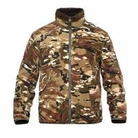 Shanghai Story Casual Polar Fleece Jacket Windproof Tactical Military Reversible Cardigan Men S Sweatshirts 2 Color