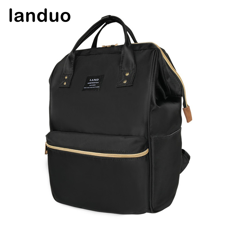 landou LAND Diaper Bag Large Nursing Bag Fashion Mummy Maternity Travel Backpack Designer Stroller Baby Bag Nappy Backpack все цены