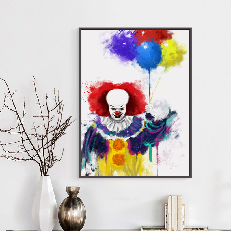 Art Film Clown Painting