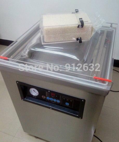 DZ-500 single-chamber vacuum packaging machine, vacuum sealer, food vacuum machine, stainless steel vacuum machine