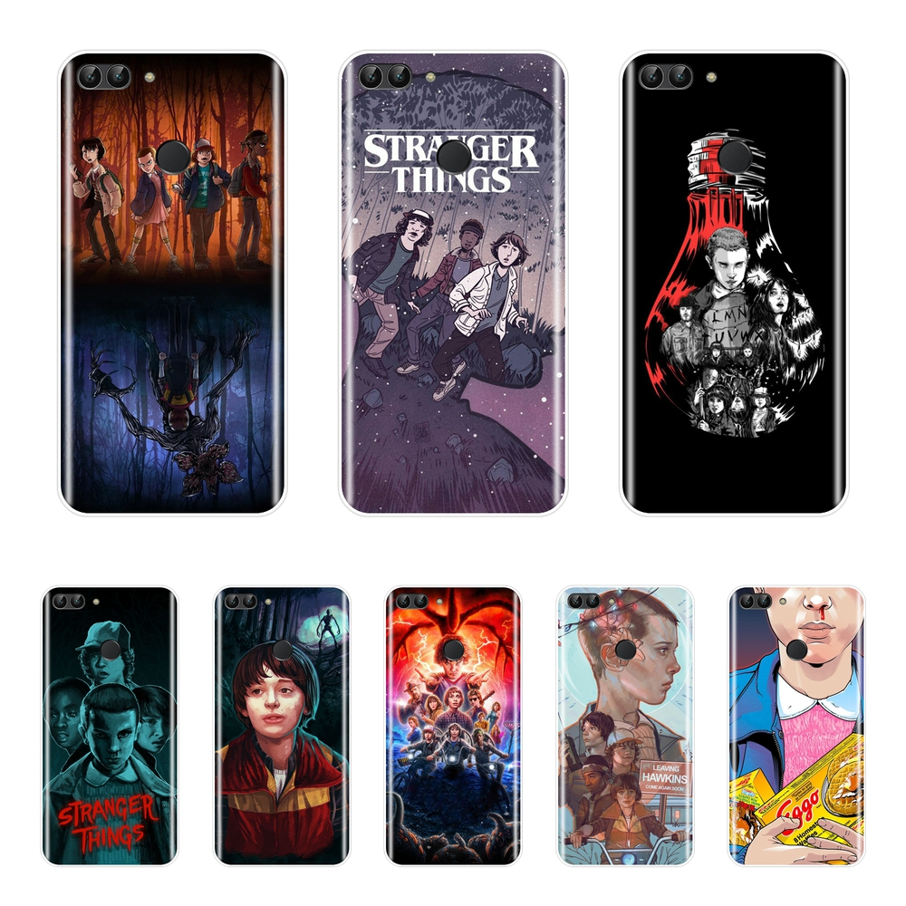 Stranger Things Back Cover For Huawei P9 Lite Mini P10 P20 Pro P Smart Plus Soft Silicone Phone Case For P10 P20 P8 P9 Lite 2017