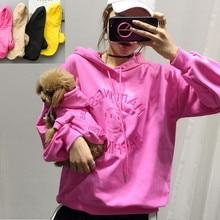 Семейная Одежда для собак, одежда для больших и маленьких собак, пальто, куртка, толстовка с капюшоном для собак, Женская толстовка с капюшоном, рубашка, пижамы для собак