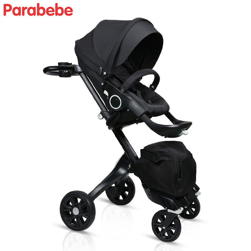 V4 V6 luxury four wheels child stroller gorgeous beautiful baby trolley brands baby car dsland prams boys girls kids pushchair v4 luxury baby stroller plush super comfortable baby pram buggy kids boys girls child cart dsland branded tricycle free shipping