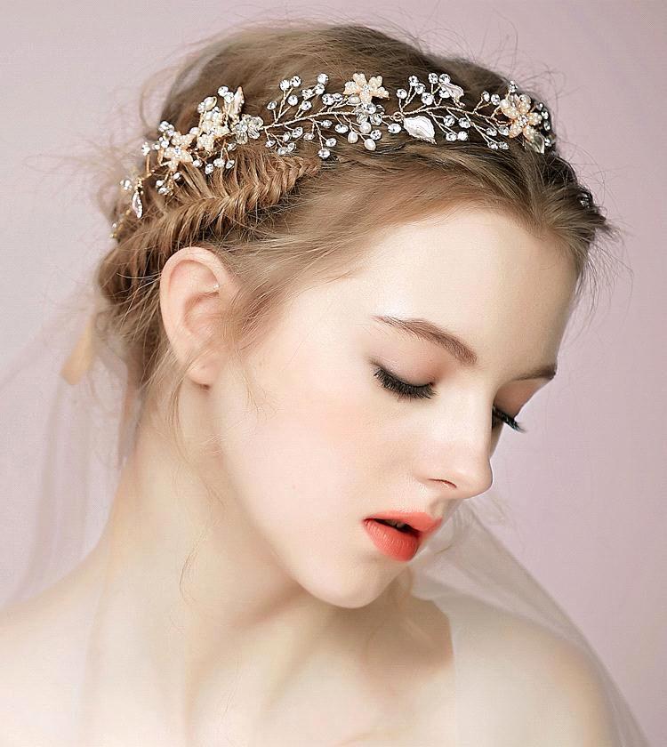Exquesite Nice Bridal headband Crystal Flower wedding hair accessories  Romantic Bridal bridal hair accessories for bride CPA509 on Aliexpress.com   c3f32ca8fdd