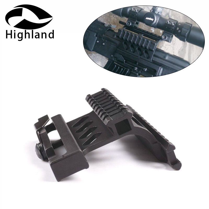 Hunting Responsible Ak 74 Rail Side Mount Quick Qd Style 20mm Detach Rail Lock Scope Mount Base Tactical Gun Accessories For Ak 47 74u Rl2-0022 Fast Color Sports & Entertainment