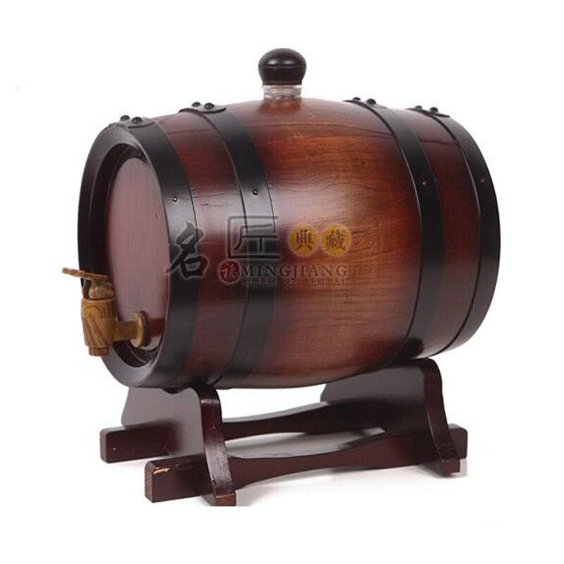 0.75L Oak Barrel Liquore Bladder Chrismas gift Bar Hotel ...