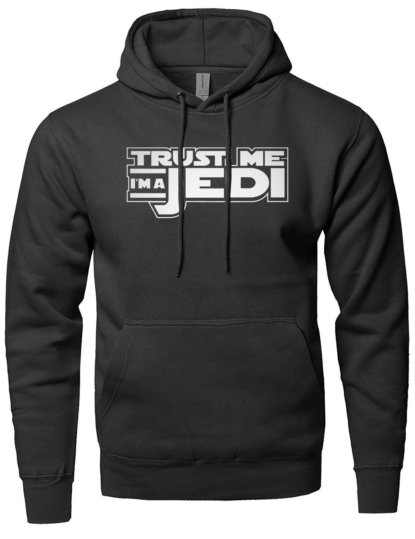Trust Me Im a Jedi knight hoodie men STAR WARS sweatshirt 2018 hot sale men sportswear spring winter fleece hoodies movie fans