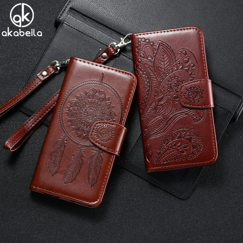 Galleria fotografica Akabeila For Filp PU Leather Case Cover <font><b>SONY</b></font> Xperia XA F3111 F3113 F3115 F3112 F3116 Phone Cover Wallet With Card Holster