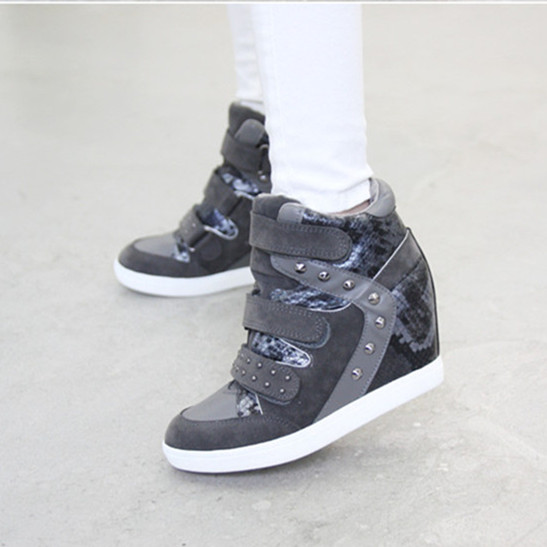 Aliexpress.com : Buy 2015 New Women Wedge Sneakers Women's Shoes ...
