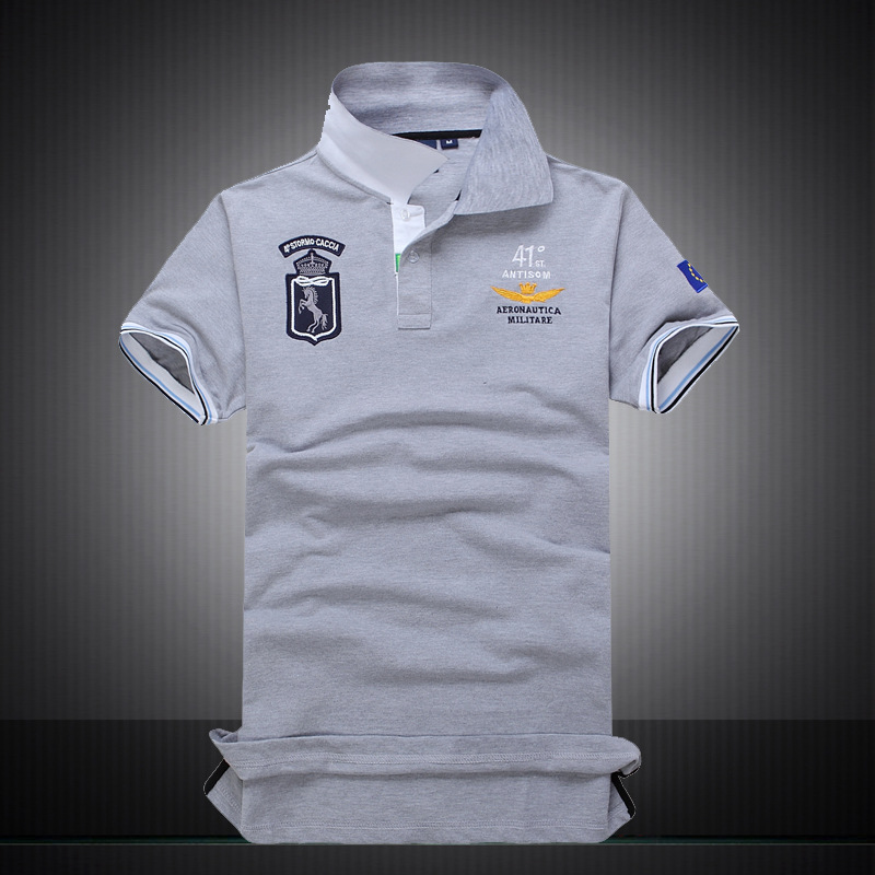 Online buy wholesale aeronautica polo from china for High quality embroidered polo shirts