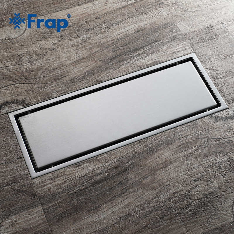 Frap シンプルなドレイン 30*11 長方形見えないキッチンフィルターストレーナードレン浴室のシャワー浴室 AccessoriesY38090