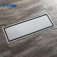 Frap Simple Style Drain 30*11 Rectangle Invisible Kitchen Filter Strainer Drain Bathroom Shower Drain Bathroom AccessoriesY38090