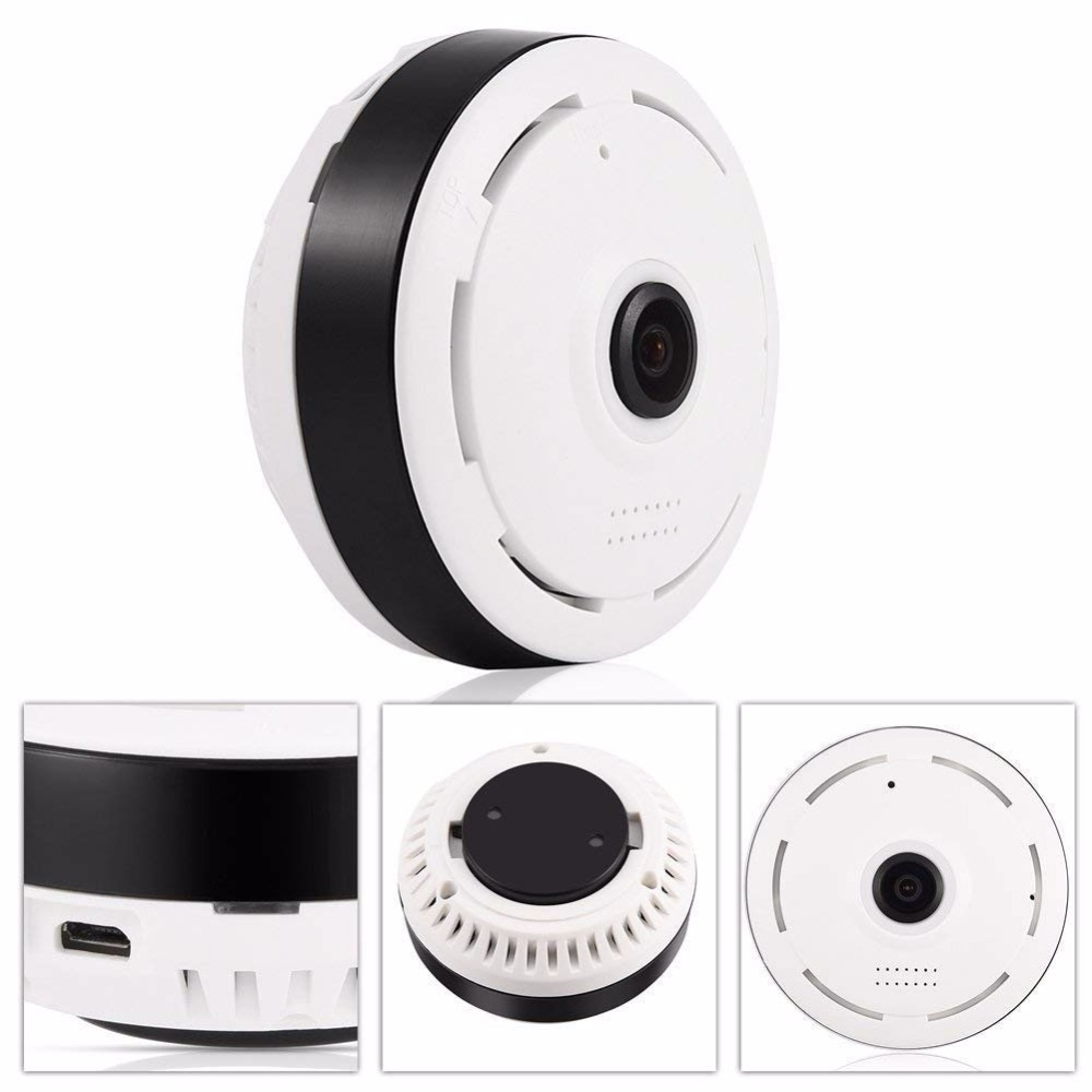 960p Panoramic Wifi Vr Camera 360 Degree Mini Cctv Camera 3d