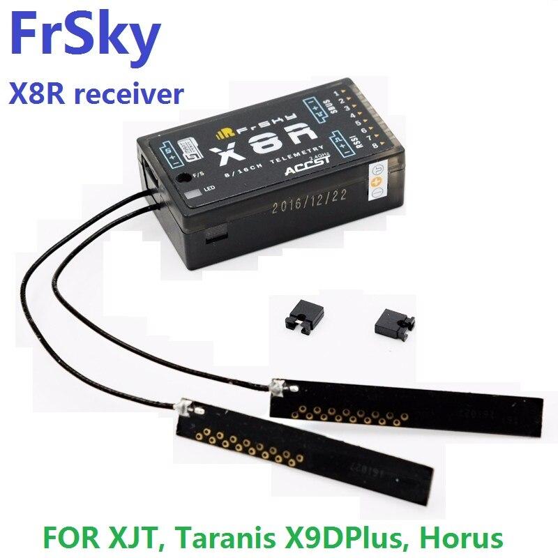 Freies Verschiffen FrSky 2,4G S. Port 8/16ch Telemetrie Empfänger X8R für XJT, Taranis X9DPlus, Horus X12S, SMARTPORT und SBUS funktion