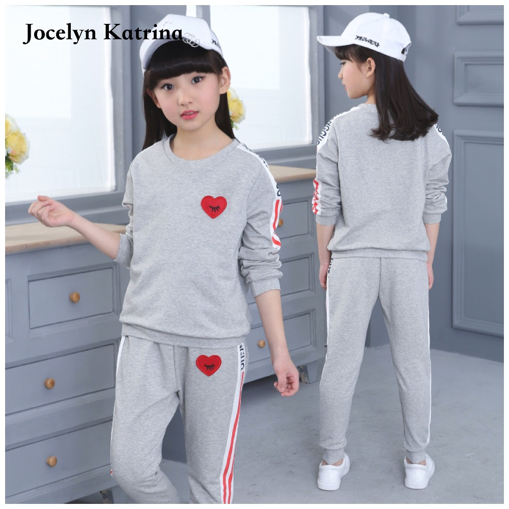 Children Clothing Sets Girls High Quality Brand Tracksuits T-Shirts & Pants 2Pcs Sportswear Cotton Sports Suit Outfits brand children girl casual tracksuits infant outfits kids clothing sets girls sport suit for children babi girls tees leggings