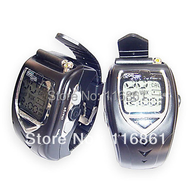 22 Channels Sliver Wrist Watch Style Walkie Talkie with Big Backlight LCD Screen