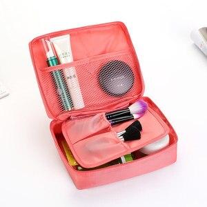 Image 2 - 旅行使用容量のバスルーム化粧品オーガナイザートイレパッケージ化粧バッグ女性化粧品収納オーガナイザー