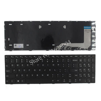 New US keyboard for lenovo ideaPad 110-15ISK 110-15IKB US laptop keyboard No backlit with frame new english backlit keyboard for lenovo ibm thinkpad e480 t480s l480 l380 yoga laptop 01yp360 01yp520 laptop us black