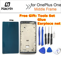 Oneplus One LCD Frame 100 Original LCD Screen Front Frame Assembly Replacement For For Oneplus One