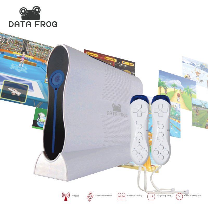 платформа для картриджа к осеребрителю автохлоратору king technology frog 5480 01 22 5048 Data Frog Sports Motion HD TV Video Game Consoles Body Sensing ET Technology Game Console For Child Health Intelligence Machine