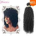 Странный Курчавый Бразильский Волос 3 связки Бразильский Kinky Вьющиеся Weave 7А Бразильский Странный Вьющиеся Человеческих Волос Связки 6-28 дюймов