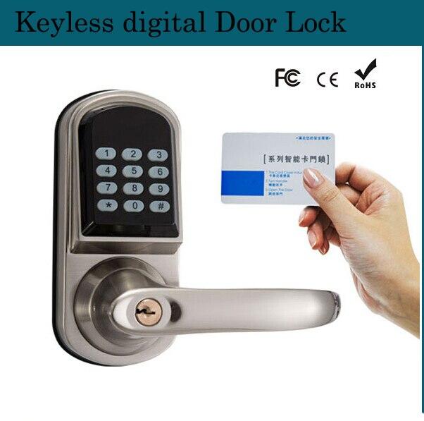 Delightful Smart Electronic Sensors Password Lock Electronic Keyless Entry Digital  Combination Door Lock Anti Theft Locks