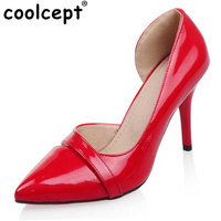 Size 32 46 Women Stiletto High Heel Shoes Sexy Ladies Brand Quality Party Pumps Fashion Point