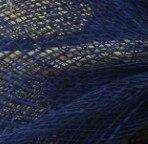 Дерби украшение с перьями аксессуары для волос 3 розы с птичьей клеткой украшения Свадебные вуали вечерние шапки несколько цветов - Цвет: Navy