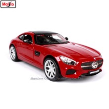 Maisto 1:24 Rad Mercedes AMG simulation alloy car model crafts decoration collection toy tools gift