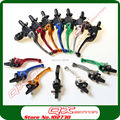 Alloy ASV Clutch and  Brake Folding Lever set  for Motorcycle ATVs Dirt Bikes Pit bikes Free Shipping
