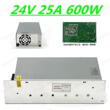 600W 24V 25A Switching Power Supply Driver Switching For LED Strip Light Display free shipping