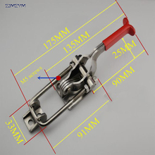Holding capacity 350KG Hasp Fastener, Toggle Latch, Hasp Catch - Trailer Industrial