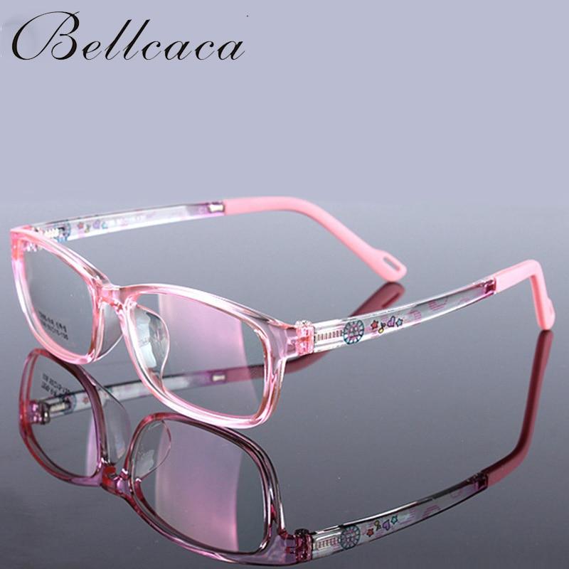 Children Optical Eyeglasses Frame Kids Myopia Computer Student Eye Glasses TR90 Spectacle Frame For Boys Girls Clear Lens BC169