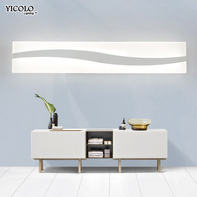 Wall Lamps 40CM 60CM Mirror Lights For Bathroom Waterproof Modern Sconce Luminary Lighting Lampada