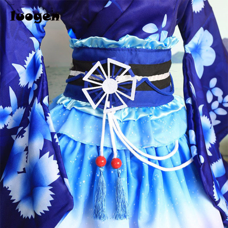 ca97fd4cde66 ... Umi Kimono Bathrobe Dress Anime Love Live Cosplay YUKATA Series  Janpanese Summer Cute Girls Anime Cosplay Costumes. В избранное. gallery  image. Наведите ...