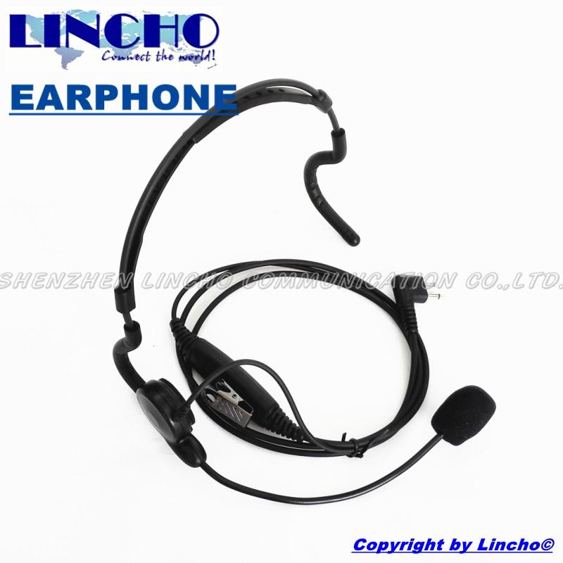 professional neckband microphone font b walkie b font font b talkie b font military headset for